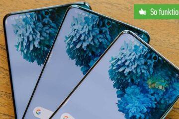 Screenshot Samsung erstellen