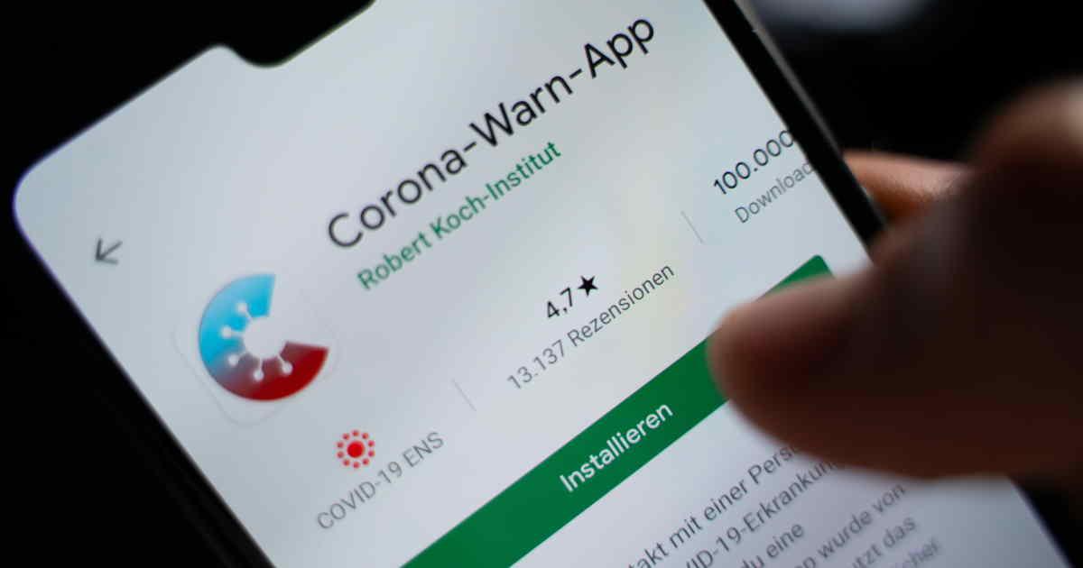 corona-app-screen