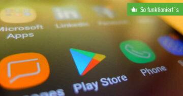 Google Play Store: Abmelden und Konto wechseln – So funktioniert's