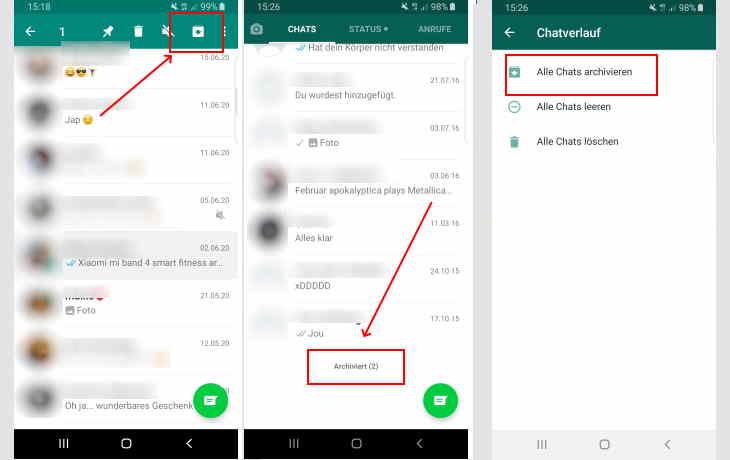 Ausblenden von whatsapp profilbild anderen Verstecken Sie