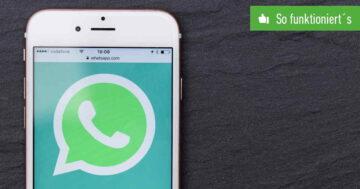 WhatsApp auf mehreren Geräten nutzen – Das funktioniert