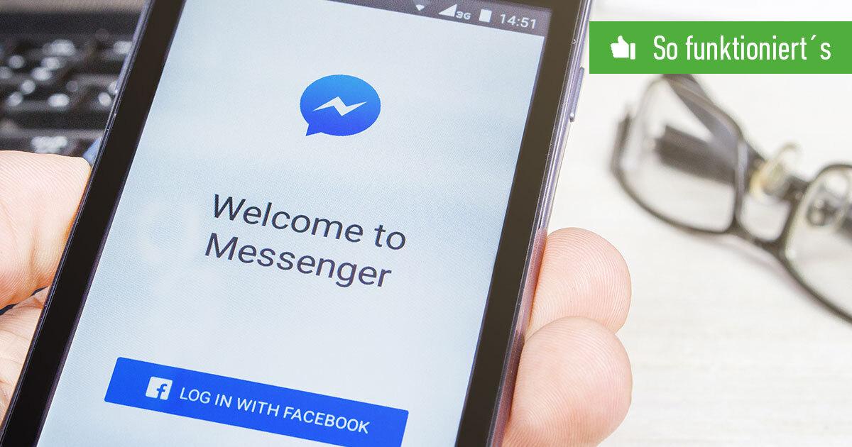 Header FB Messenger Einstellungen