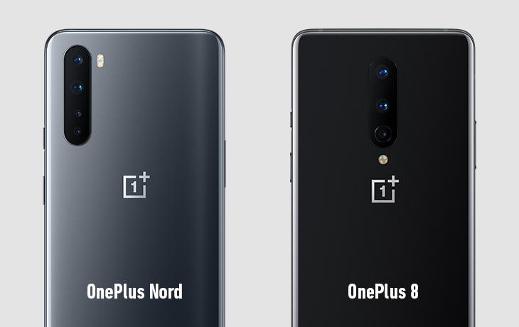 OnePlus Nord und OnePlus 8 Kameravergleich