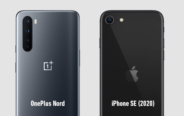 OnePlus Nord und iPhone SE 2020 Kameravergleich