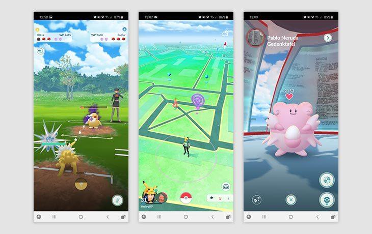 Pokémon App Pokémon GO