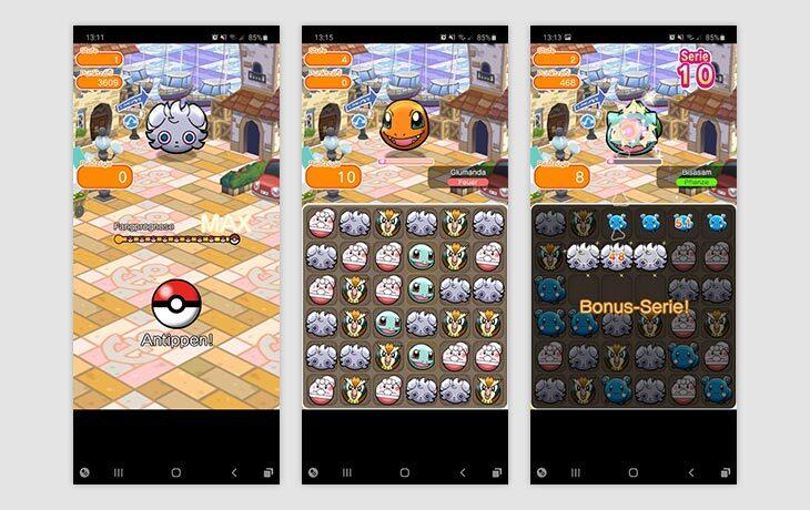 Pokémon App Pokémon Shuffle Mobile