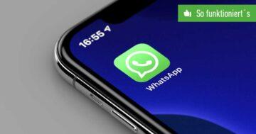 WhatsApp-Chat archivieren und rückgängig machen – So funktioniert's