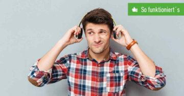 Bluetooth-Kopfhörer rauschen? Störgeräusche am Handy beheben