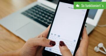 iMessage: Nachrichten vom iPhone nachträglich löschen – So klappt's