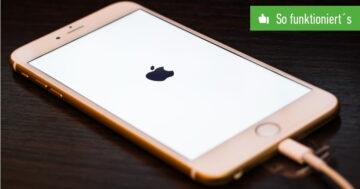 iOS-Update fehlgeschagen – Was tun, wenn das iPhone hängt?