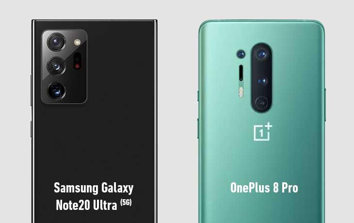Galaxy Note 20 Ultra 5G und OnePlus Pro Kameravergleich