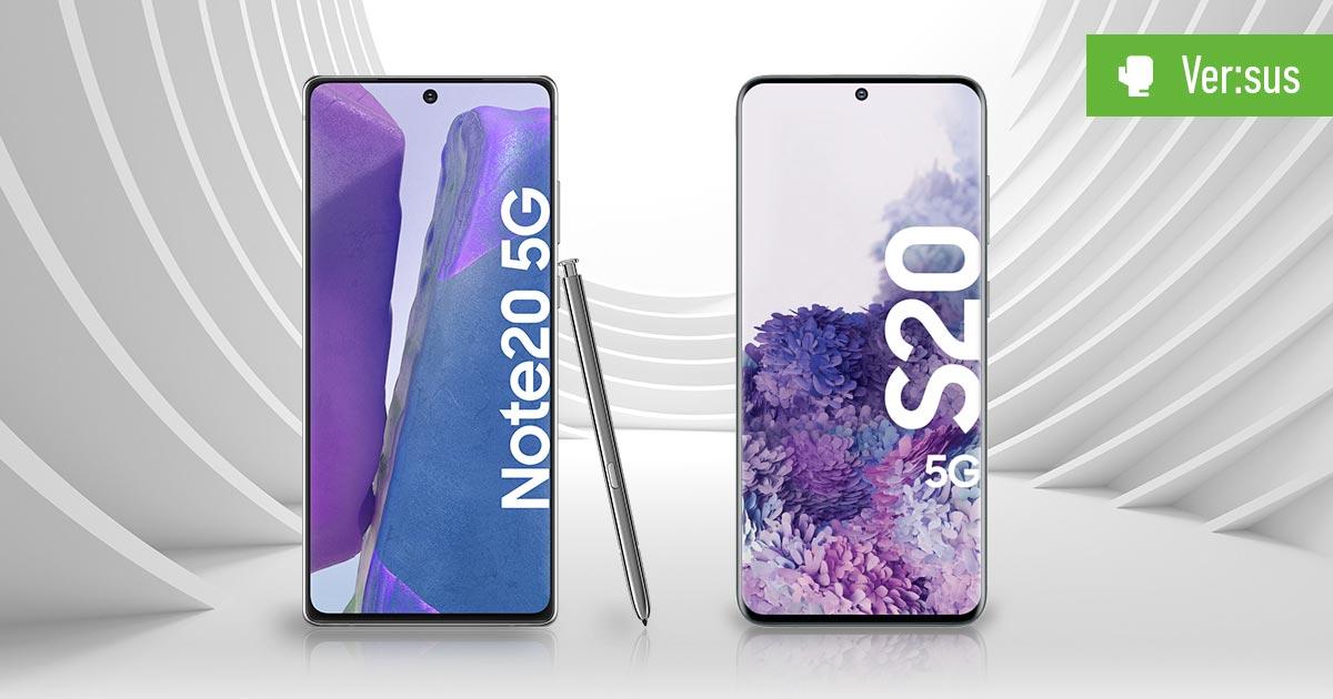Galaxy Note 20 vs. Galaxy S20