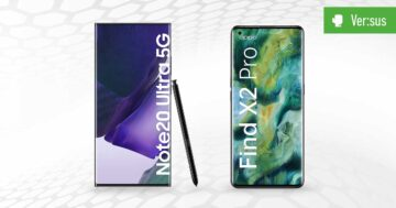Samsung Galaxy Note 20 Ultra 5G vs. Oppo Find X2 Pro: Vergleich der Premium-Modelle