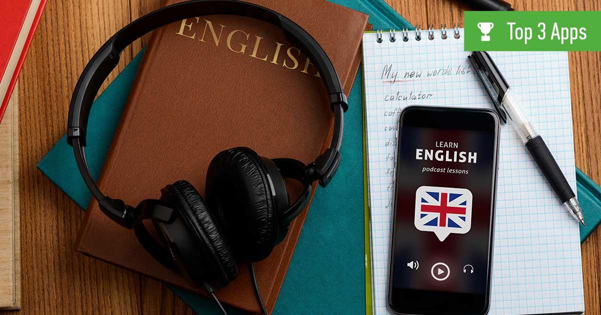 Header Englisch-Lern-App