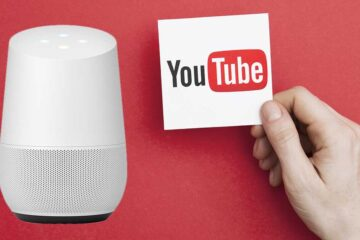 Google Home mit YouTube