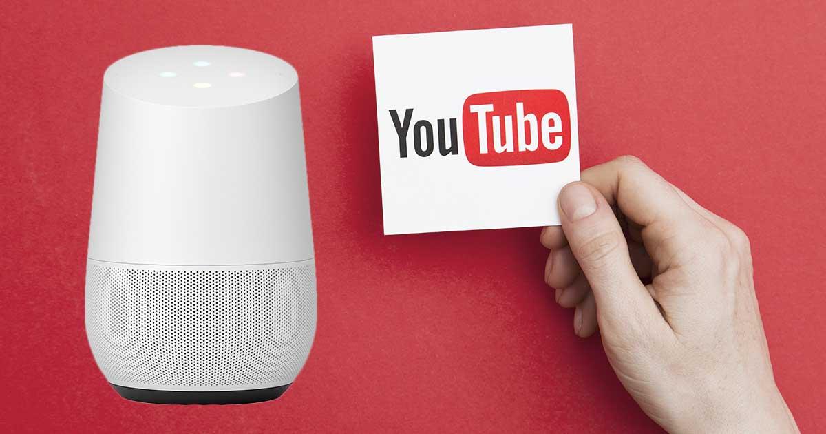 Google Home mit YouTube