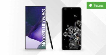 Samsung Galaxy Note 20 Ultra 5G vs. Galaxy S20 Ultra 5G: Vergleich der Giganten