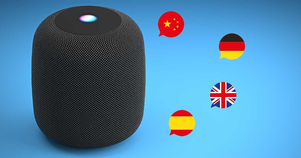 Siri: Sprache ändern