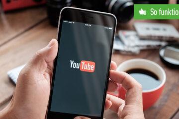 Header YouTube Playlist erstellen