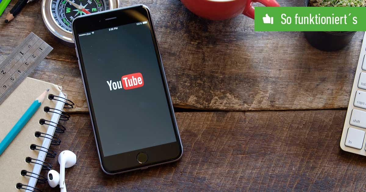 Header YouTube Sprache ändern