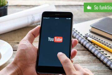 Header YouTube Verlauf löschen