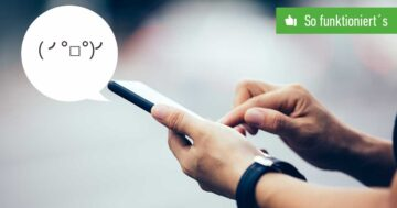 Japanische Smileys schreiben – So funktioniert's (ツ)