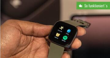 Fitbit Versa mit iPhone verbinden – So funktioniert's