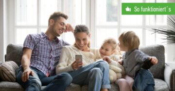 Google Play: Familienmediathek anmelden und verwalten – So funktioniert's