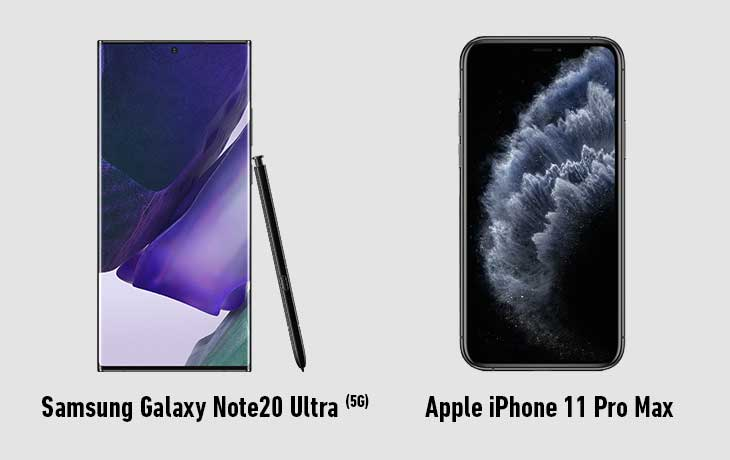 samsung-galaxy-note-20-vs-iphone-11-pro-max-front
