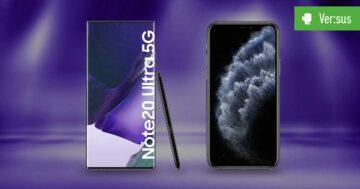 Samsung Galaxy Note 20 Ultra 5G vs. iPhone 11 Pro Max im Vergleich: Duell der Mächtigen