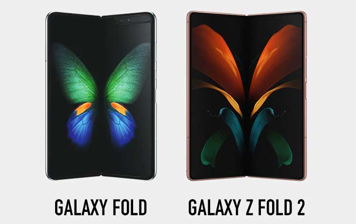 Samsung Galaxy Z Fold 2 5G vs. Samsung Galaxy Fold Display