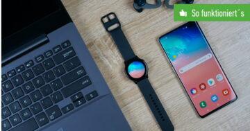 Smartwatch mit Handy verbinden – So funktioniert's