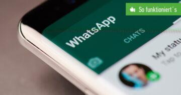 WhatsApp: Nachricht kopieren und einfügen – So funktioniert's