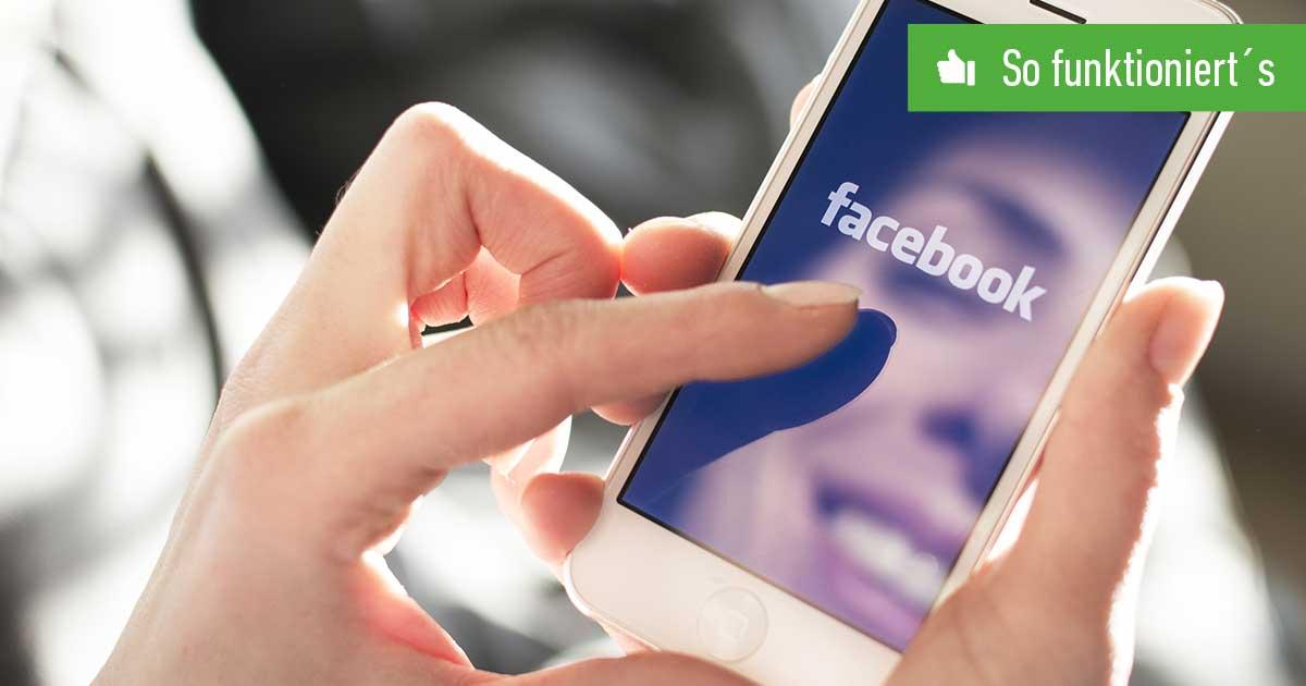 Header FB Freundesliste