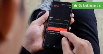 Netflix-Passwort ändern – So funktioniert's