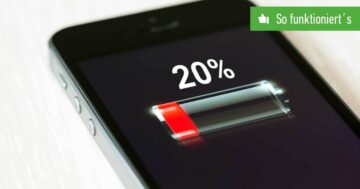 iPhone-Batterie in Prozent anzeigen - So funktioniert's