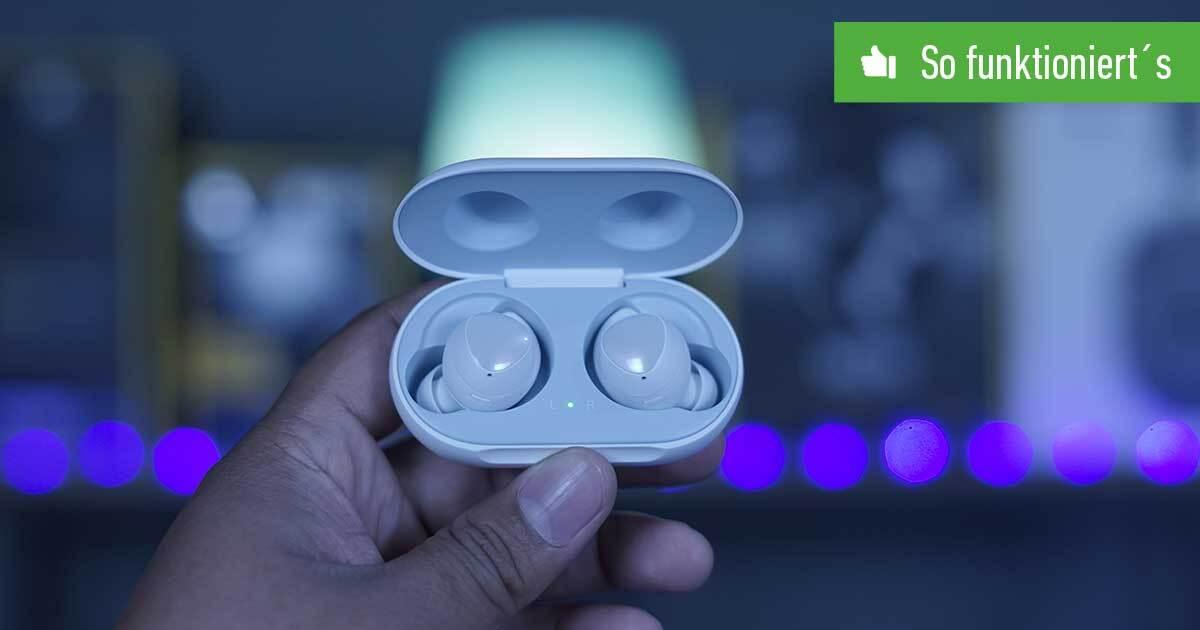 Samsung Galaxy Buds mit iPhone verbinden: So funktioniert's