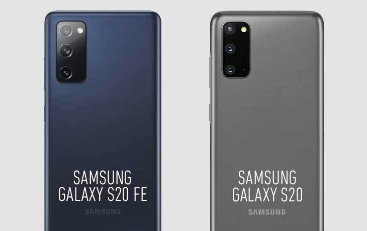 Samsung Galaxy S20 FE vs. Galaxy S20 Vergleich Kamera