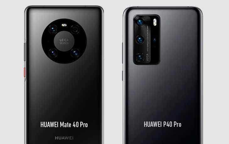HUAWEI Mate 40 Pro vs. HUAWEI P40 Pro
