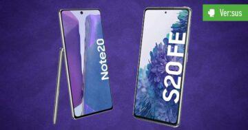 Samsung Galaxy S20 FE vs. Samsung Galaxy Note 20: Der Handy-Vergleich