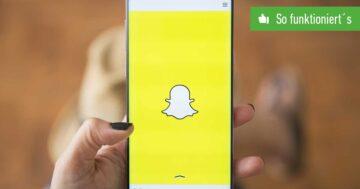 Snapchat-Gruppe erstellen – So funktioniert's