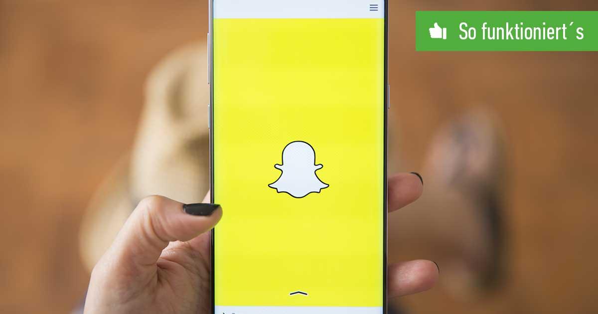 Header_Snapchat-Gruppe erstellen