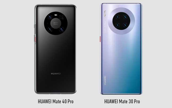 Huawei Mate 40 Pro vs. Mate 30 Pro: Rückseite