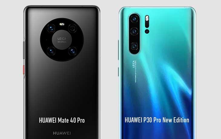 Kameravergleich - HUAWEI Mate 40 Pro und HUAWEI P30 Pro New Edition