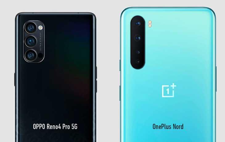 Kameravergleich OPPO Reno4 Pro 5G und OnePlus Nord