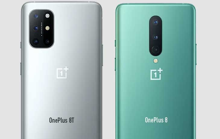 Kameravergleich OnePlus 8T und OnePlus 8