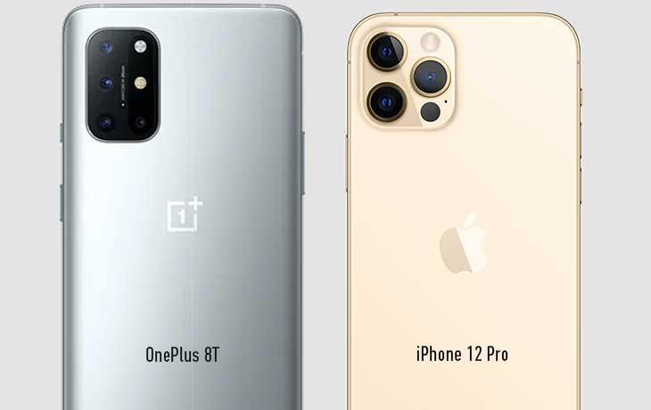 Kameravergleich OnePlus 8T und iPhone 12 Pro
