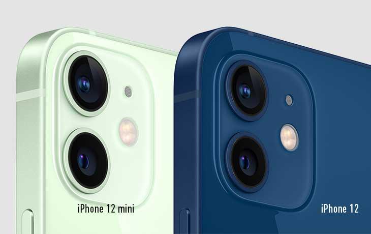 Kameravergleich iPhone 12 mini und iPhone 12