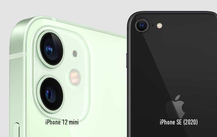Kameravergleich - iPhone 12 mini und iPhone SE