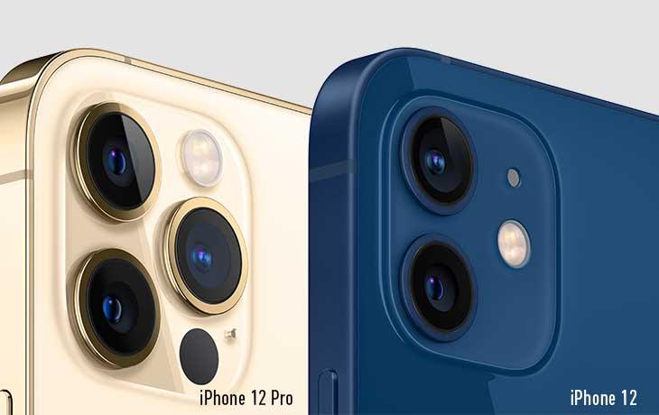 Kameravergleich iPhone 12 und iPhone 12 Pro